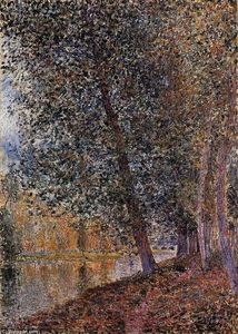 Alfred Sisley - Banks of the Loing, Autumn
