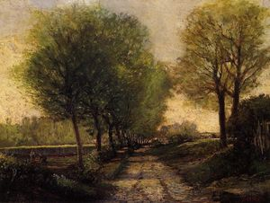 Alfred Sisley - Lane near a Small Town