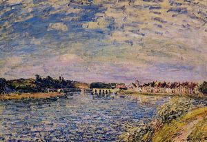 Alfred Sisley - Saint Mammes Evening