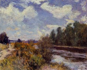 Alfred Sisley - The Seine at Bougival 2