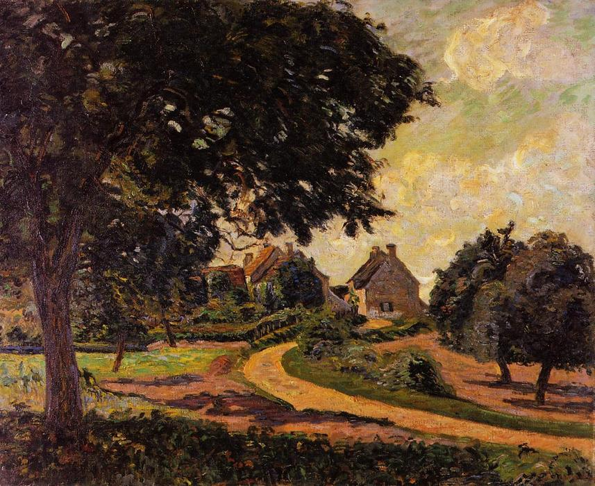famous painting After the Rain of Jean Baptiste Armand Guillaumin