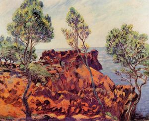 Jean Baptiste Armand Guillaumin - Agay - the Red Rocks