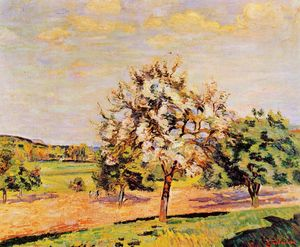 Jean Baptiste Armand Guillaumin - Apple Trees in Bloom