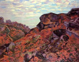 Jean Baptiste Armand Guillaumin - Crozant, the Sedelle Heights, Morning