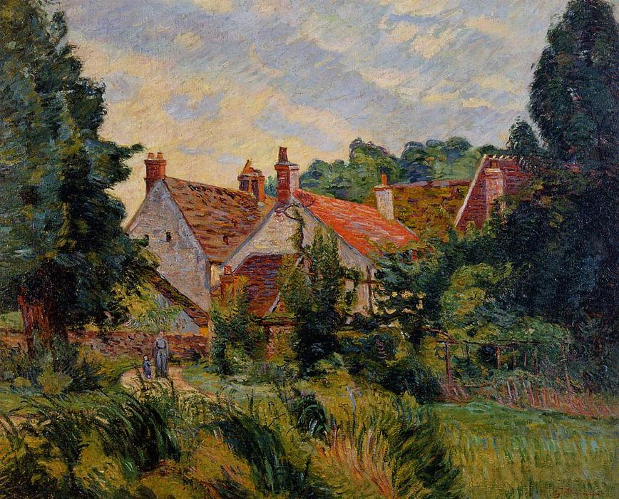 famous painting Epinay-sur-Orge of Jean Baptiste Armand Guillaumin