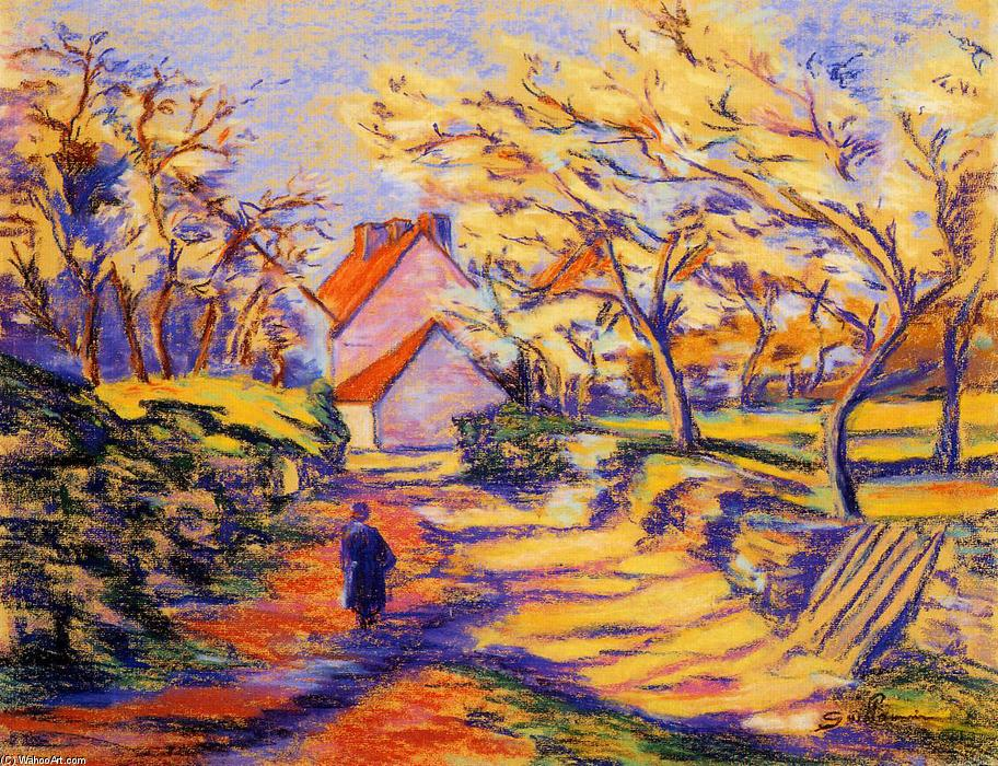 famous painting In the Countryside of Jean Baptiste Armand Guillaumin