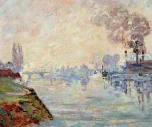 Jean Baptiste Armand Guillaumin - Landscape in the Vicinity of Rouen