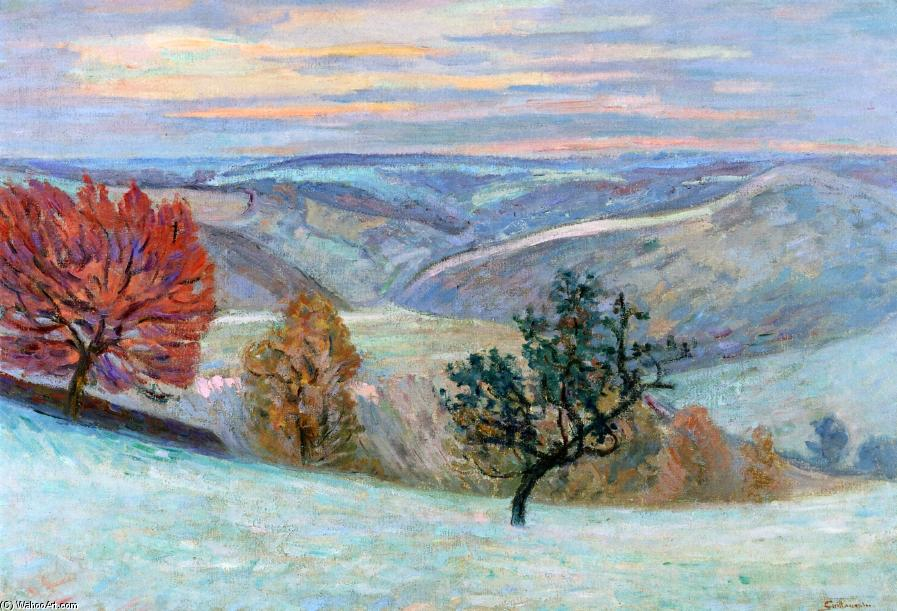 famous painting Le Puy Barriou 1 of Jean Baptiste Armand Guillaumin