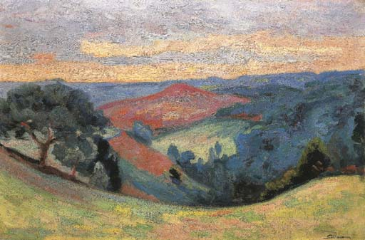 famous painting Le Puy Barriou 2 of Jean Baptiste Armand Guillaumin