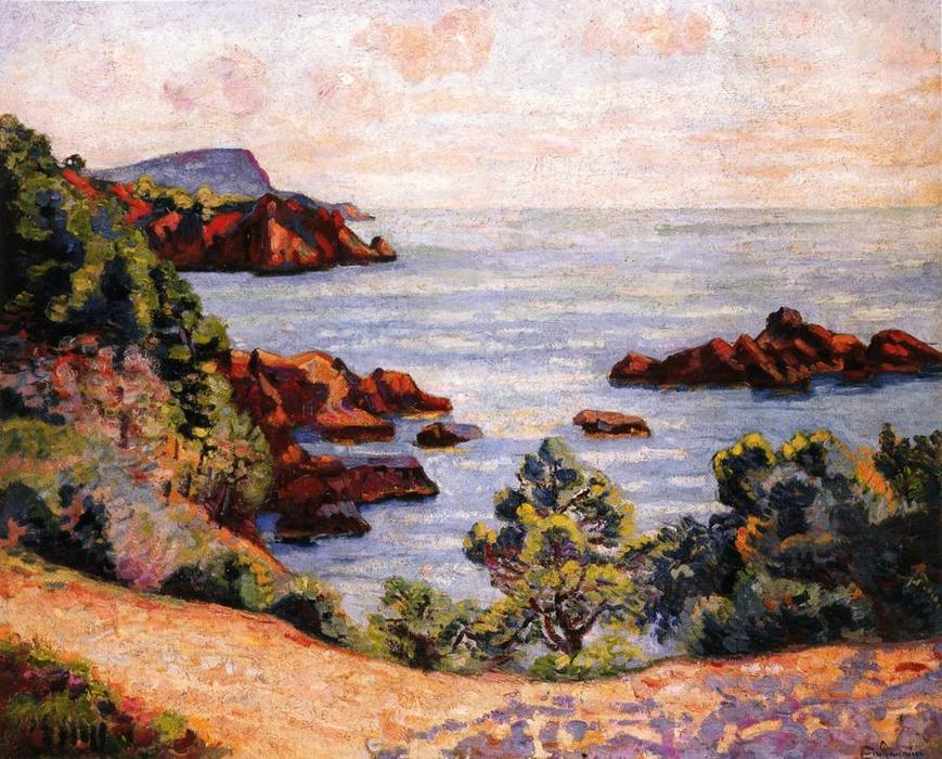 famous painting Midday Landscape of Jean Baptiste Armand Guillaumin