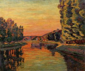 Jean Baptiste Armand Guillaumin - Moret, July 1902