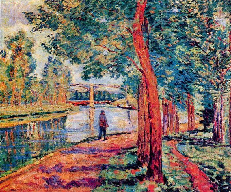famous painting Moret of Jean Baptiste Armand Guillaumin