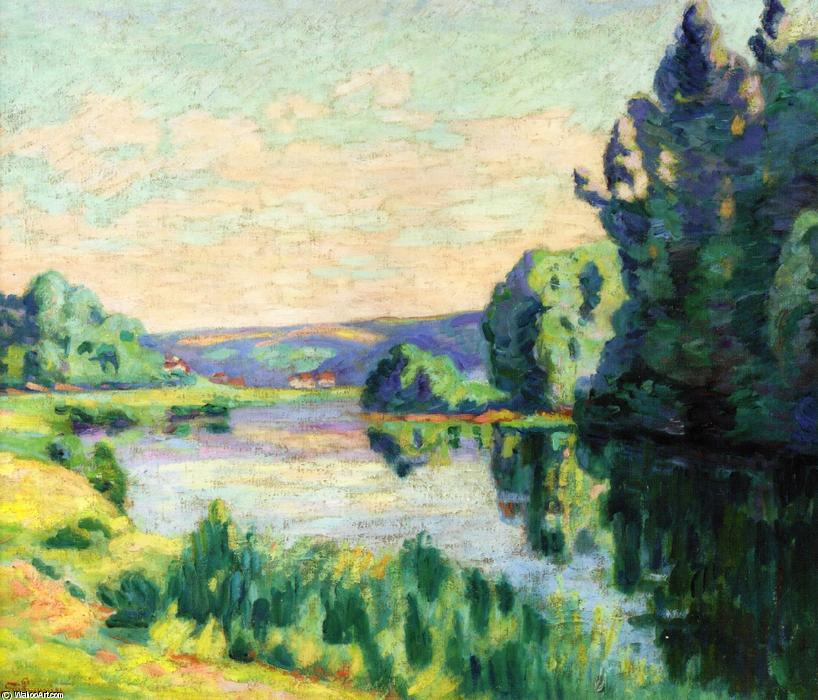 famous painting Nanteuil-sur-Marne of Jean Baptiste Armand Guillaumin