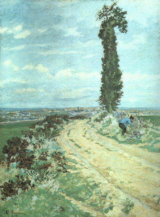 famous painting Outskirts of Paris of Jean Baptiste Armand Guillaumin