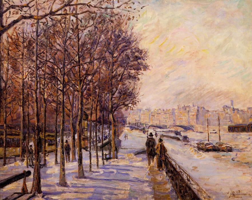 famous painting Place Valhubert of Jean Baptiste Armand Guillaumin
