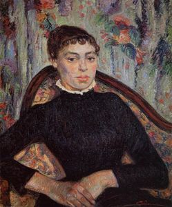 Jean Baptiste Armand Guillaumin - Portrait of a Young Girl