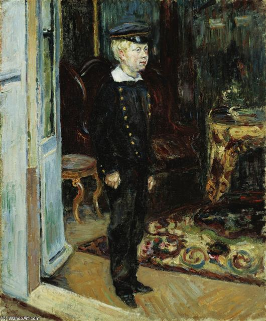 famous painting Schoolboy of Jean Baptiste Armand Guillaumin