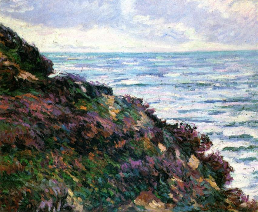 famous painting Seascape of Jean Baptiste Armand Guillaumin