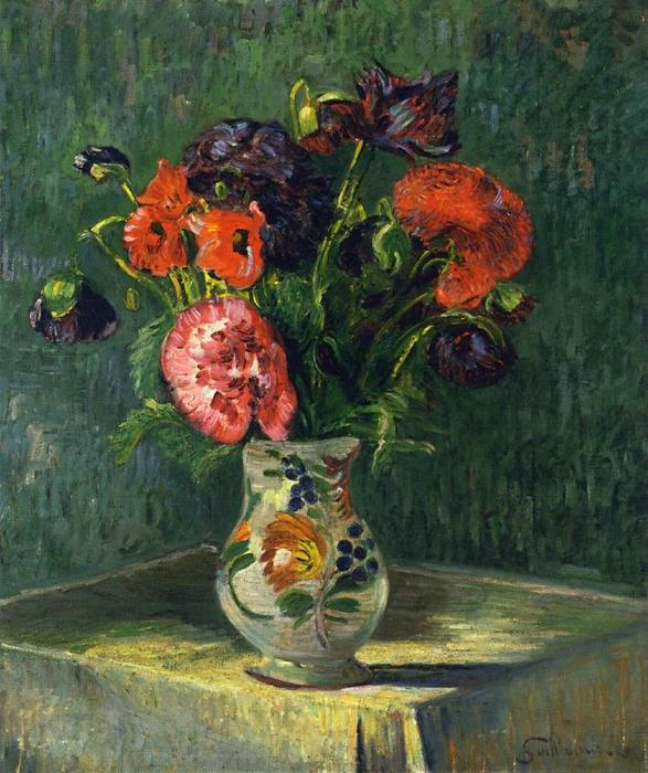 famous painting Still Life with Flowers of Jean Baptiste Armand Guillaumin