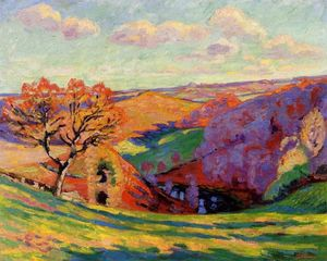 Jean Baptiste Armand Guillaumin - The Creuse at Crozant
