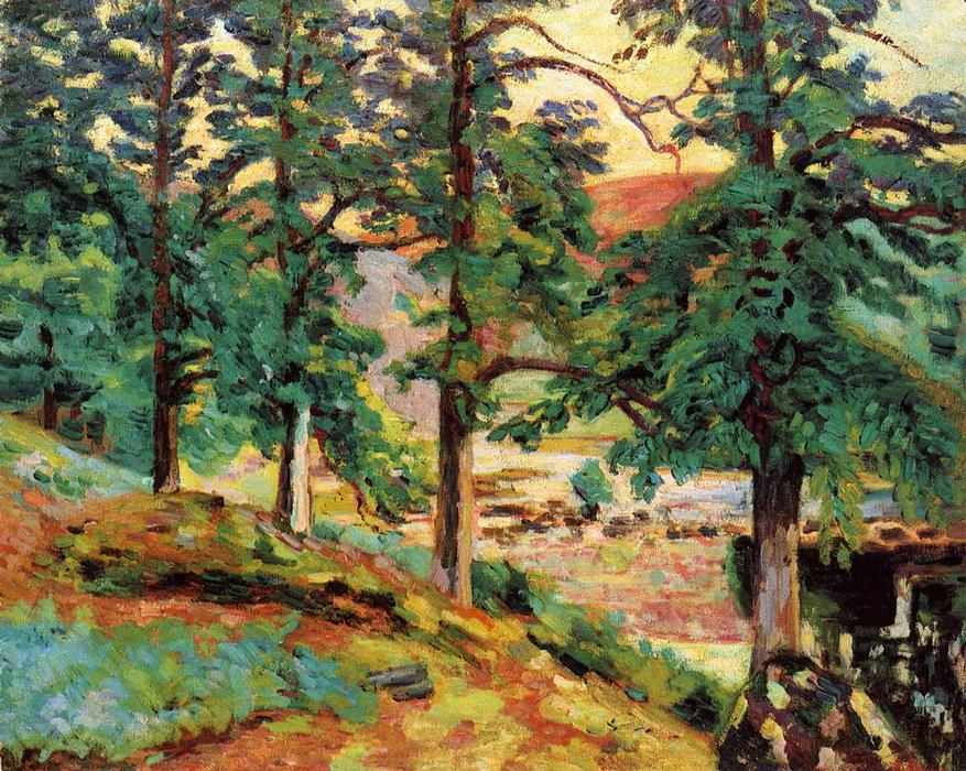 famous painting The Creuse of Jean Baptiste Armand Guillaumin