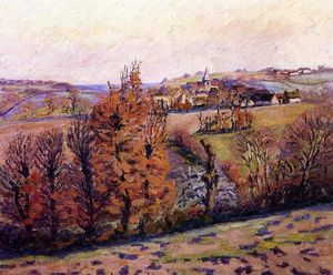 Jean Baptiste Armand Guillaumin - The Village of Crozant