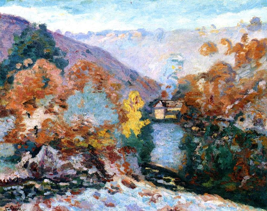 famous painting Untitled of Jean Baptiste Armand Guillaumin