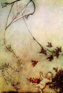 Arthur Rackham - Peter Pan in Kensington Gardens 3