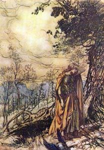 Arthur Rackham - The ring of the nibelung 26