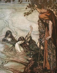 Arthur Rackham - The ring of the nibelung 60