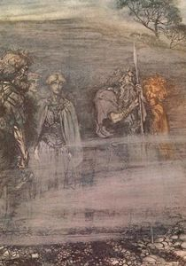 Arthur Rackham - The ring of the nibelung 8