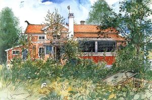 Carl Larsson - The Cottage