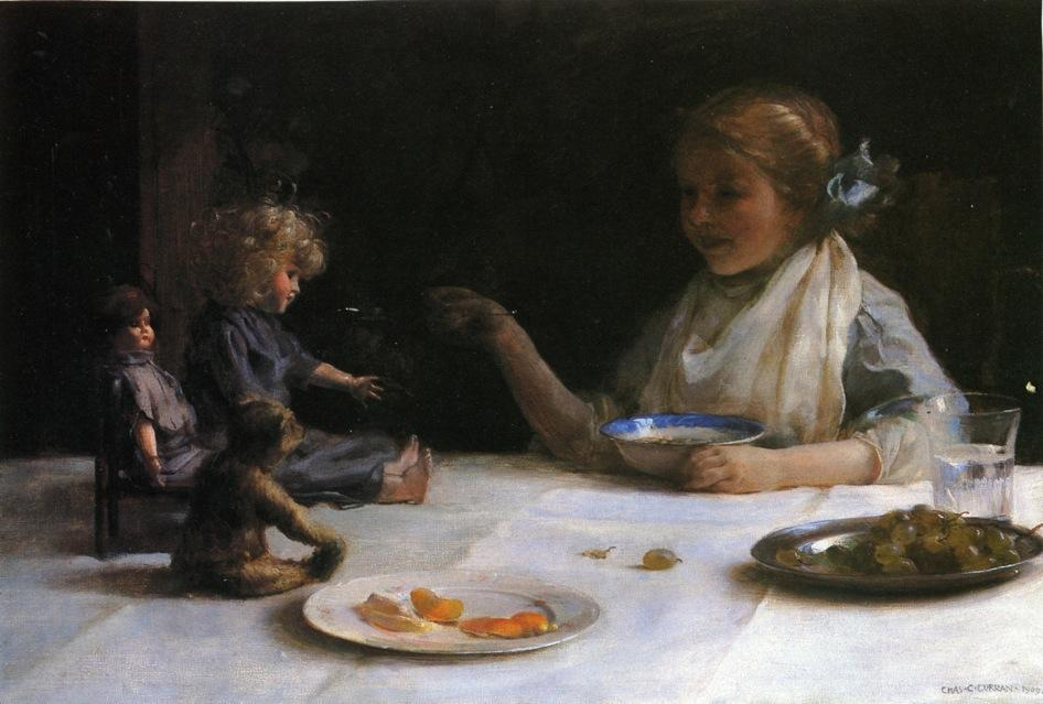 famous painting The Breakfast Party of Charles Courtney Curran