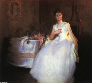 Edmund Charles Tarbell - After the Ball