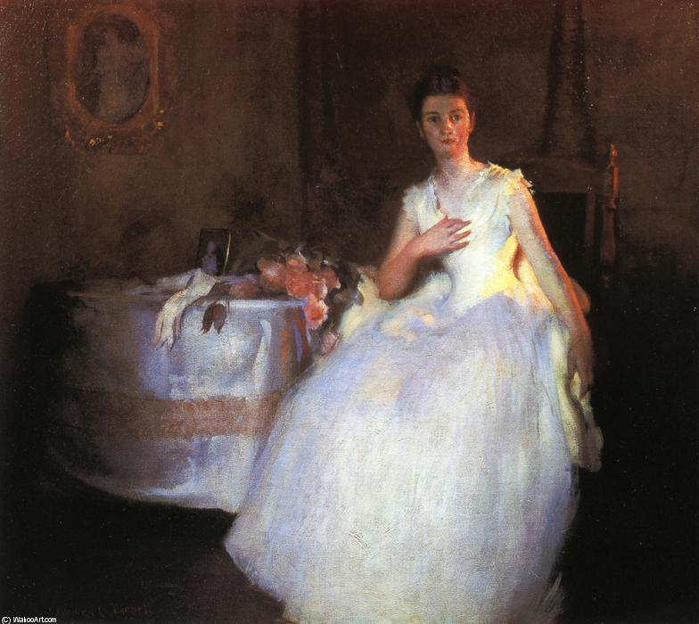 famous painting After the Ball of Edmund Charles Tarbell