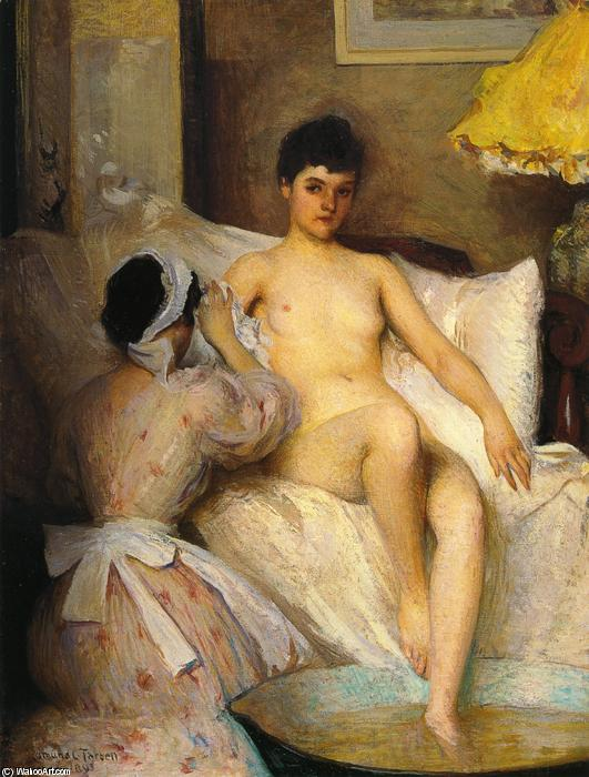famous painting The Bath of Edmund Charles Tarbell