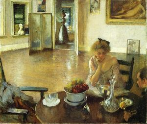 Edmund Charles Tarbell - The Breakfast Room (aka In the Breakfast Room)