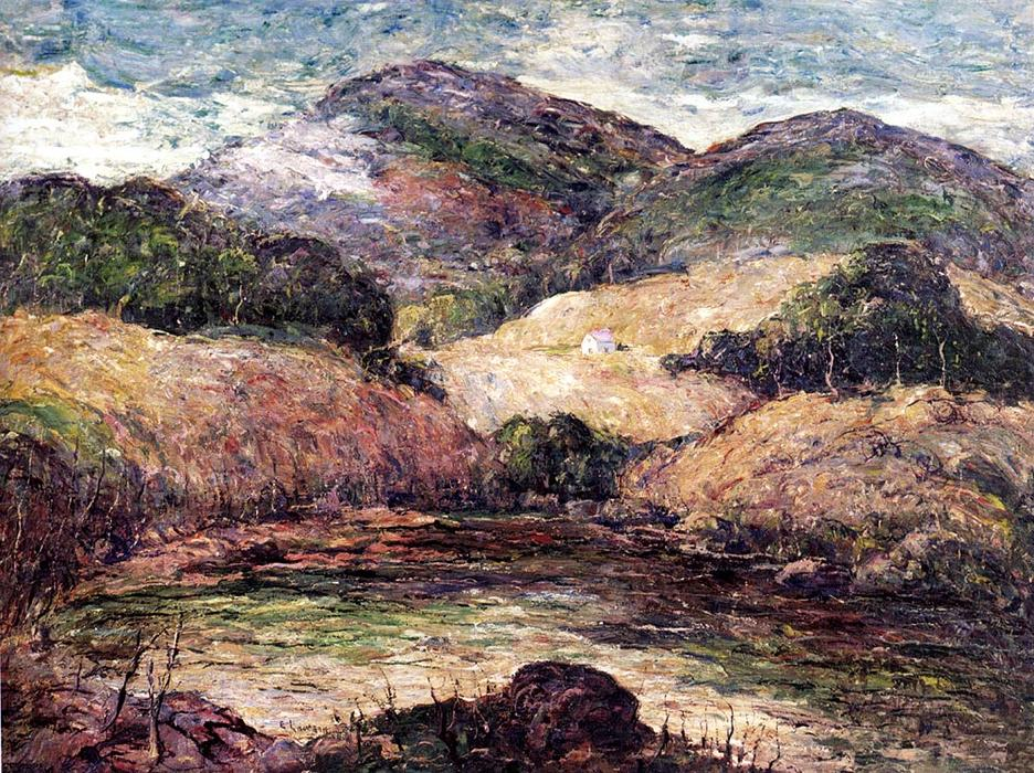 famous painting Berkshire Hills of Ernest Lawson