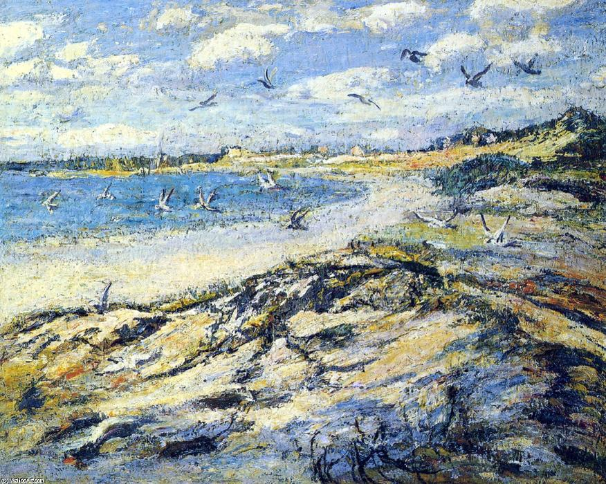 famous painting Cape Code Beach of Ernest Lawson