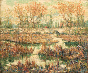 Ernest Lawson - Late Summer