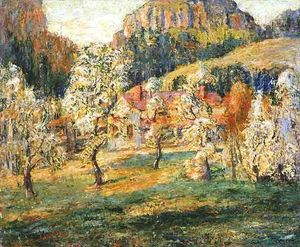 Ernest Lawson - May in the Mountains 1