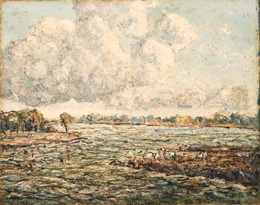 famous painting Offshore Florida of Ernest Lawson