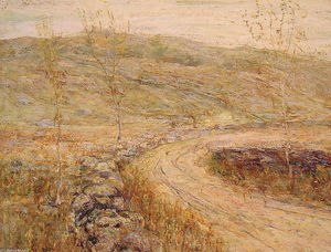 Ernest Lawson - Road in Spring