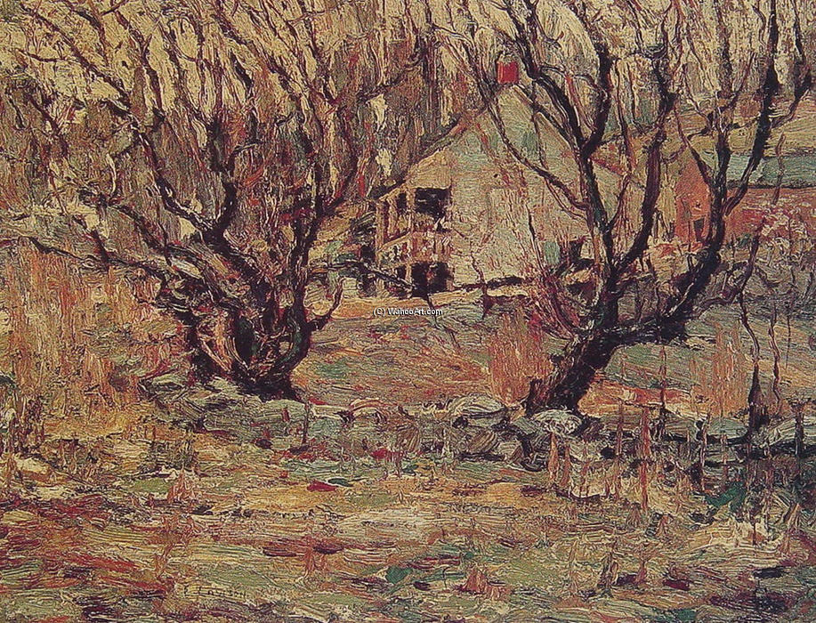 famous painting Unknown of Ernest Lawson