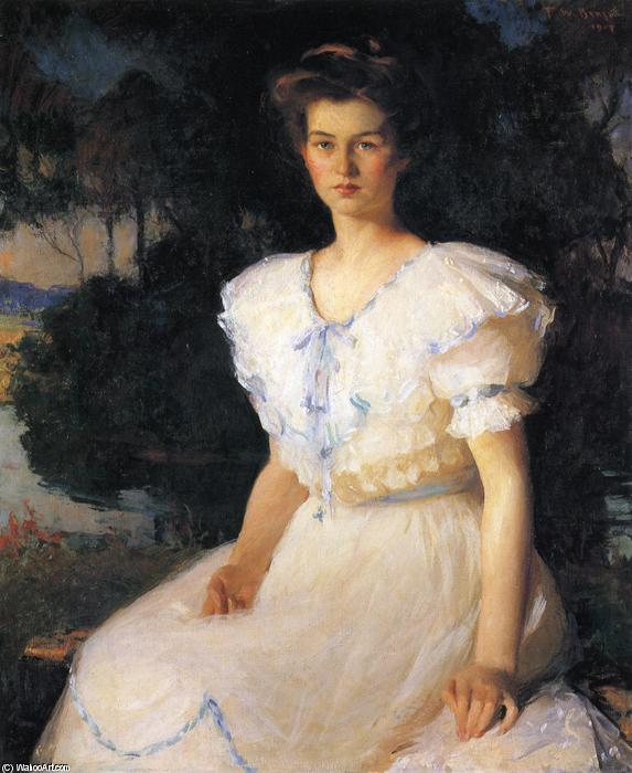famous painting Dorothy Lincoln of Frank Weston Benson