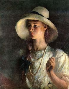 Frank Weston Benson - My Daughter