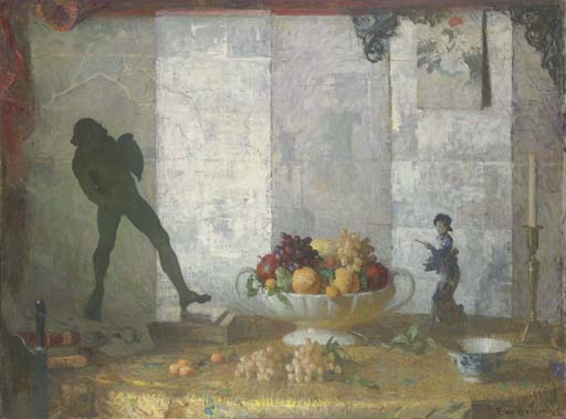 famous painting Still Life Decoration of Frank Weston Benson