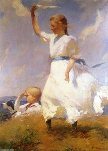 Frank Weston Benson - The Hilltop