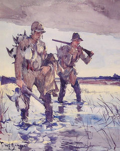 Frank Weston Benson - Two Duck Hunters