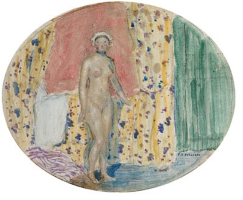 famous painting Bathing Nude of Frederick Carl Frieseke